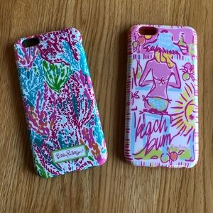 Lilly Pulitzer IPhone 6/6s phone covers 📱